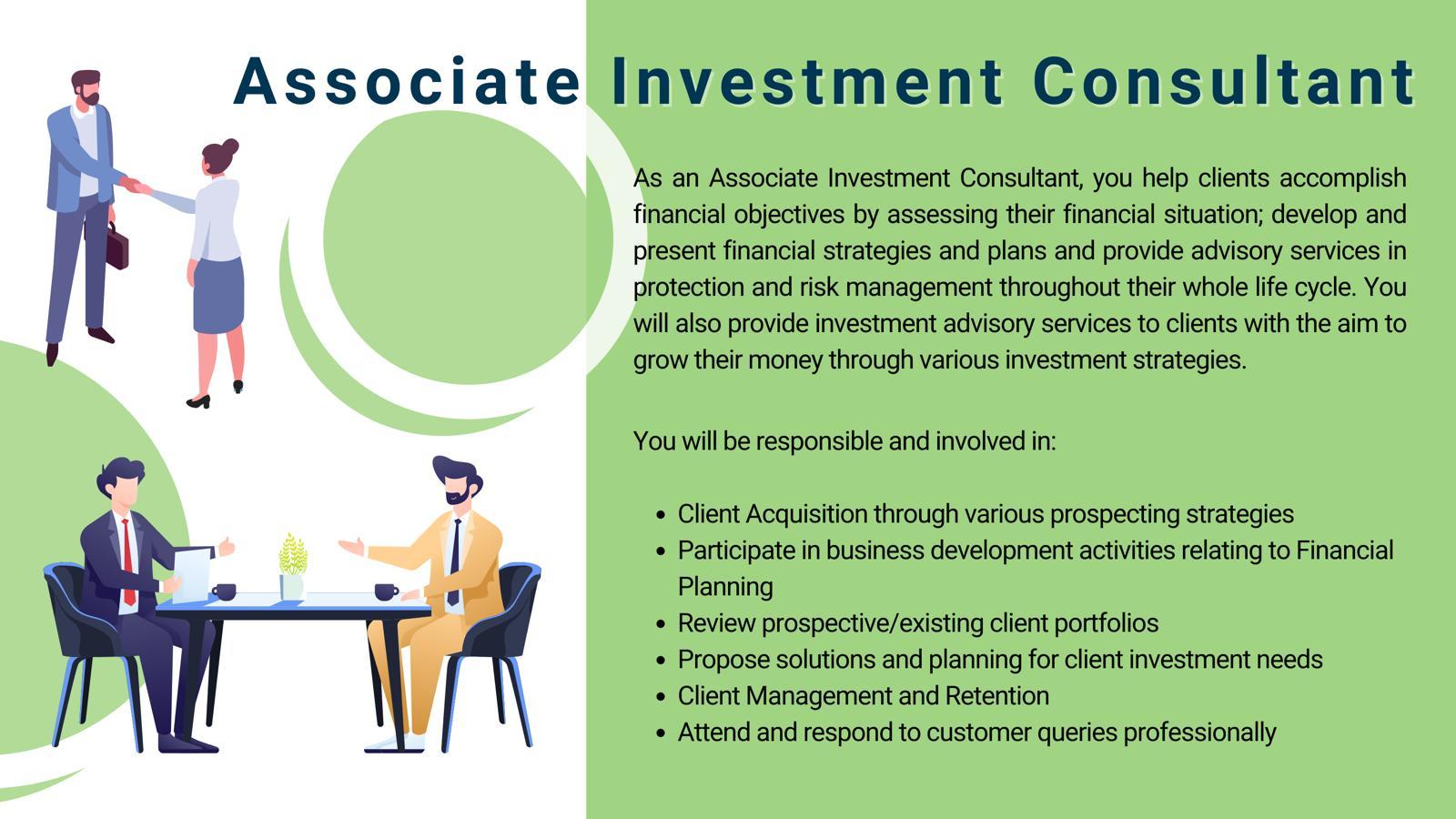Associate Investment Consultant